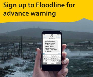 Sign up to Floodline